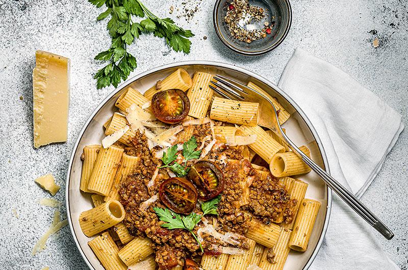 Gautschi Pasta mit warmer Sauce