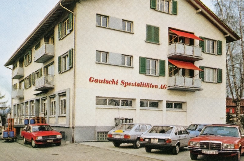 Altes Foto von Gautschi Unternehmen