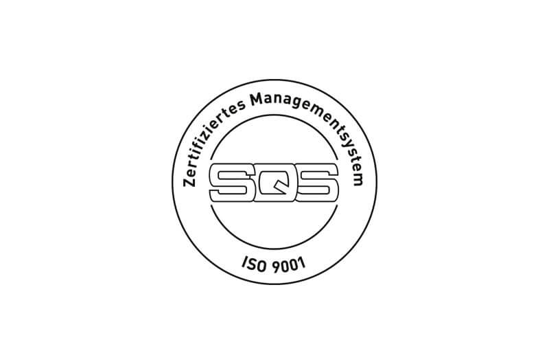 ISO 9001 Label